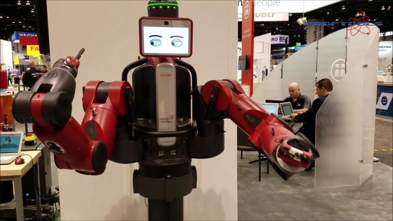 robotas prekybos centruose