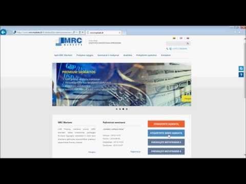 demonstracinė sąskaita prekybos peržiūros platformoje interneto uždarbis autopilote