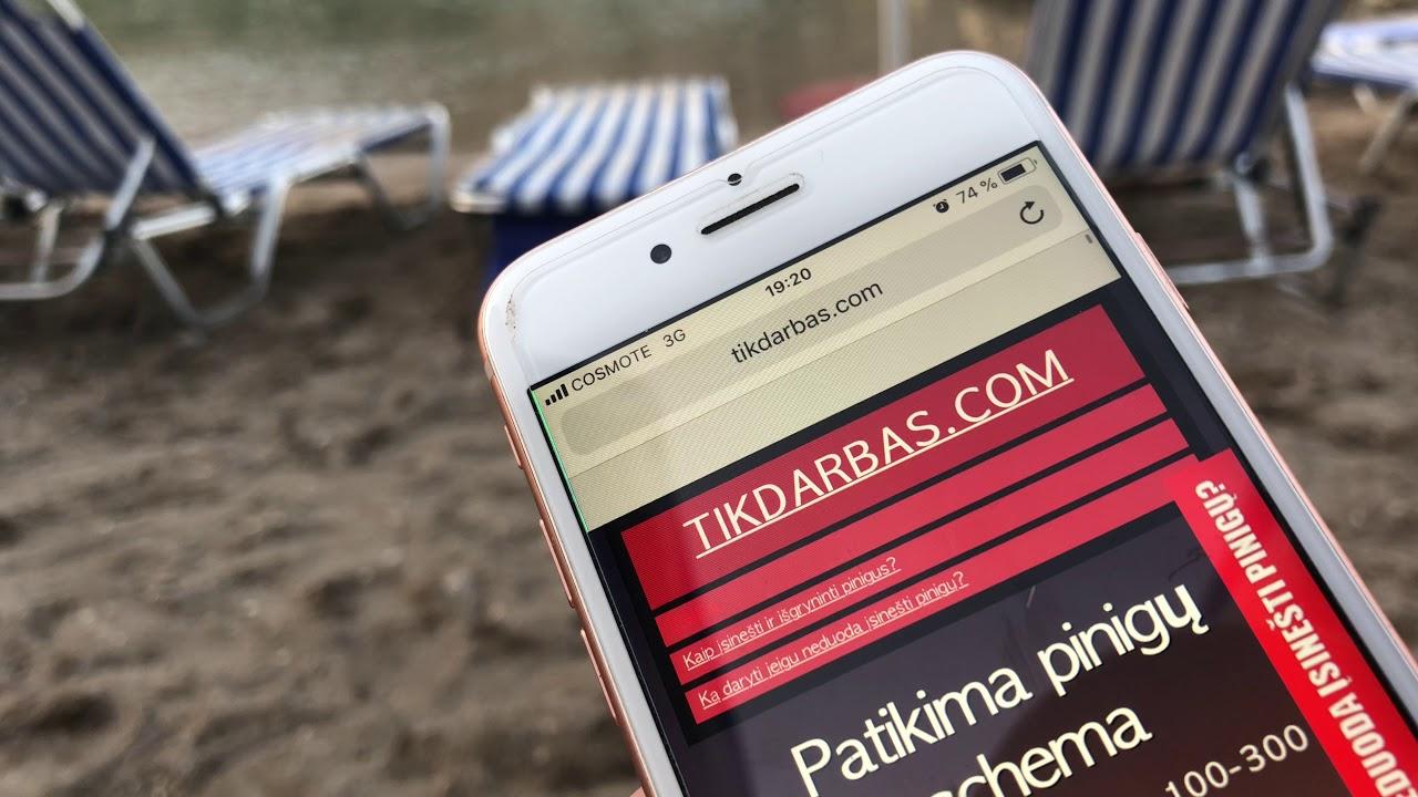 mobilioji pinigų užsidirbimo internete versija