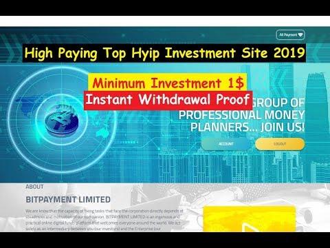 Investicijos į internetą HYIP