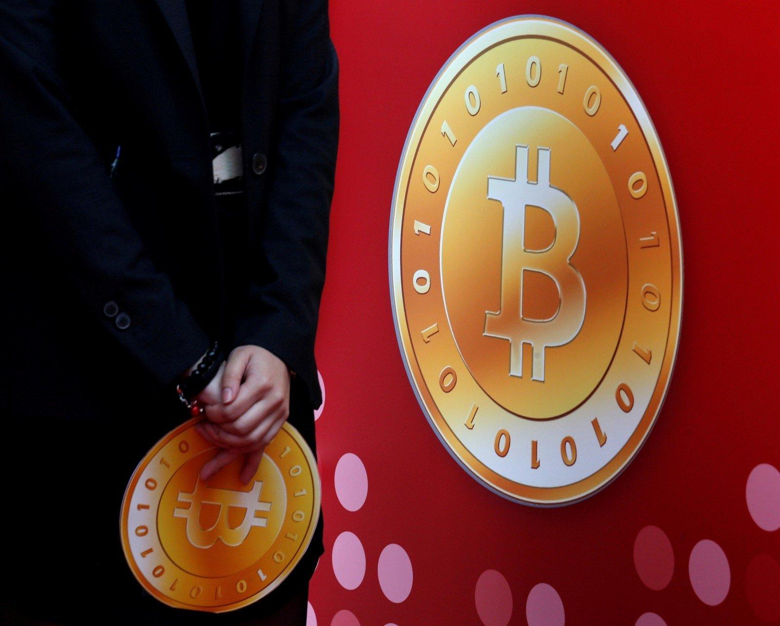 Bitkoino kaina pirmą kartą per daugiau nei metus viršijo 9 tūkst. dolerių
