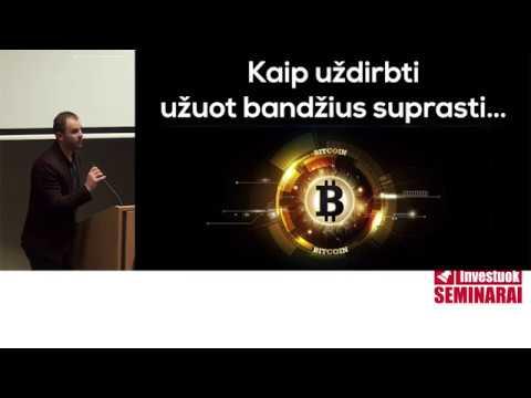kaip greitai uždirbti 1 bitkoiną be investicijų