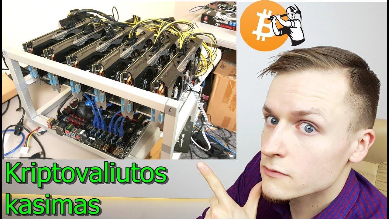 Kriptovaliutos kasimas