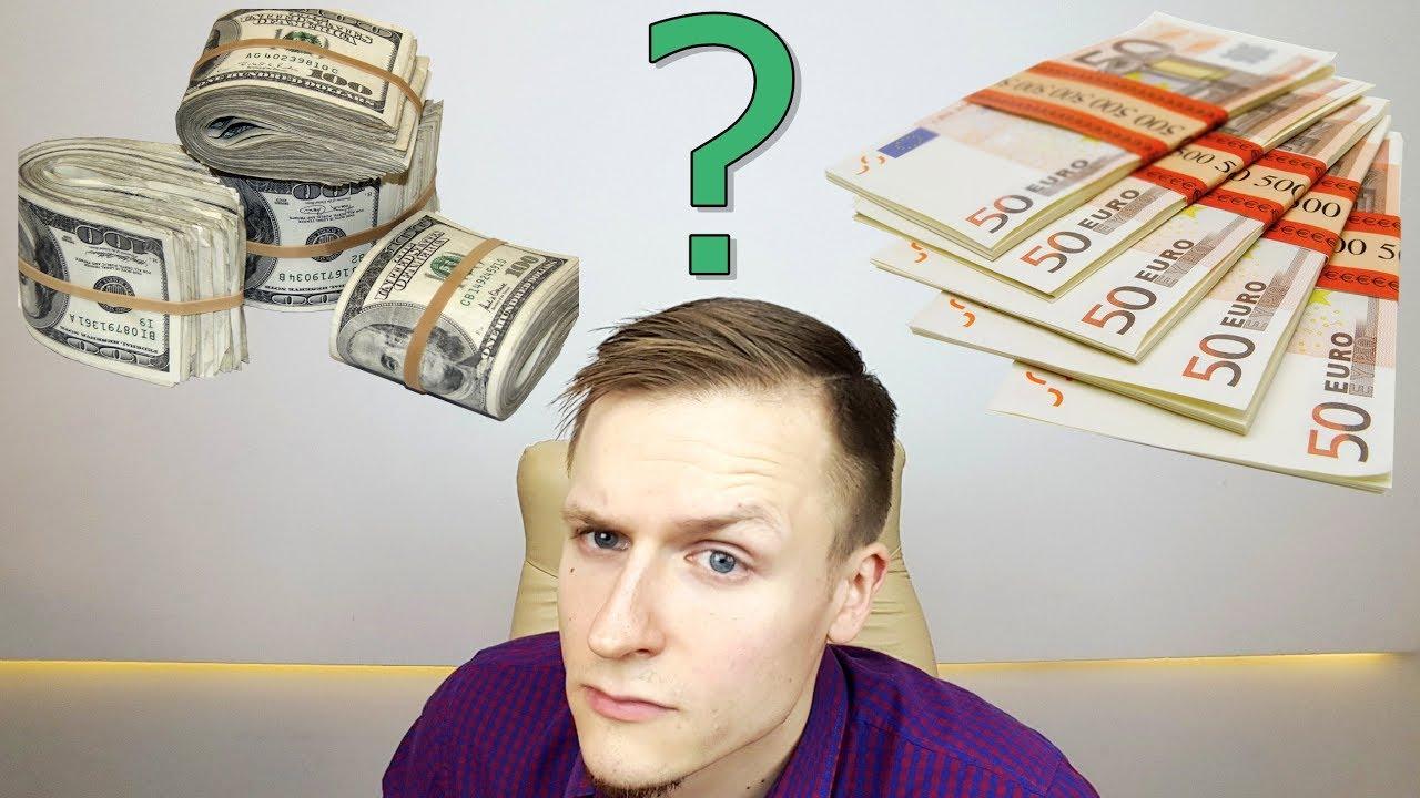 Kaip užsidirbti pinigų pagal dolerio kursus.
