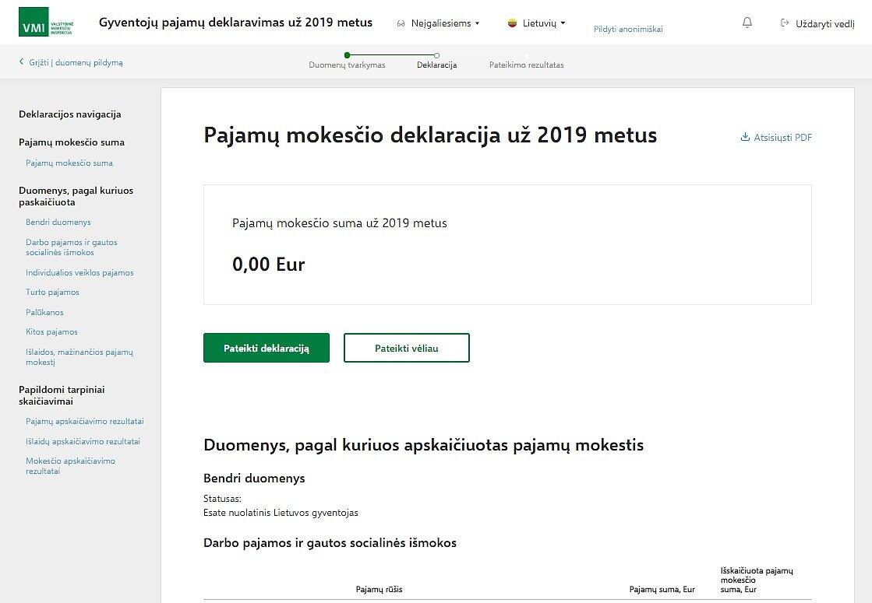 interneto pajamų nuorodos