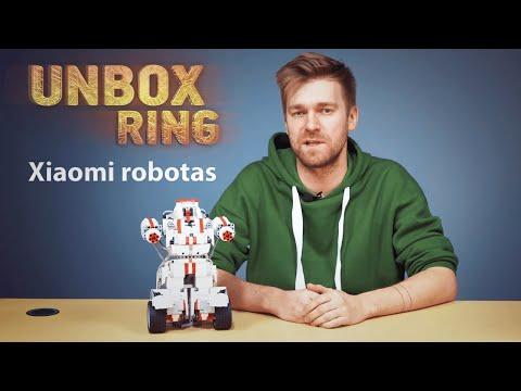 rankinė prekyba ar robotas