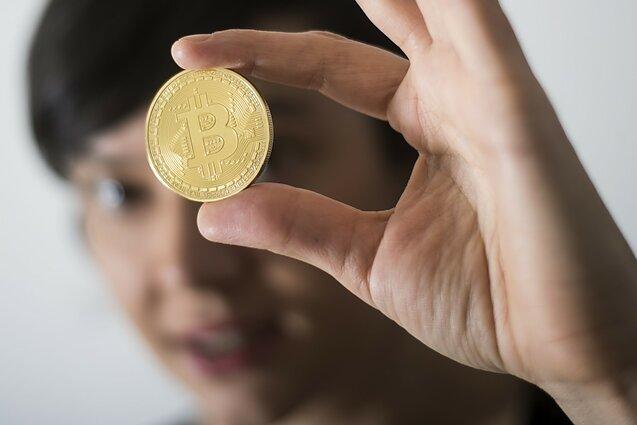 populiarus bitkoinas