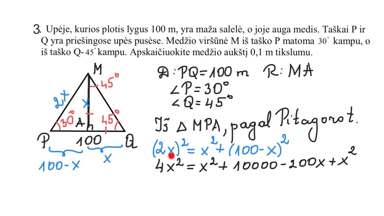 tiesinės tendencijos linijos formulė