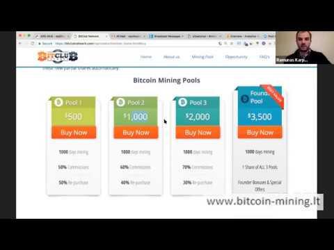 pasirinkimo data Bitcoin uždarbis kaip tai veikia