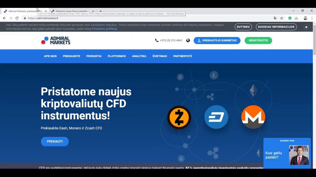 Platformos su demonstracine sąskaita - Prekyba valiutomis su MetaTrader4 platforma